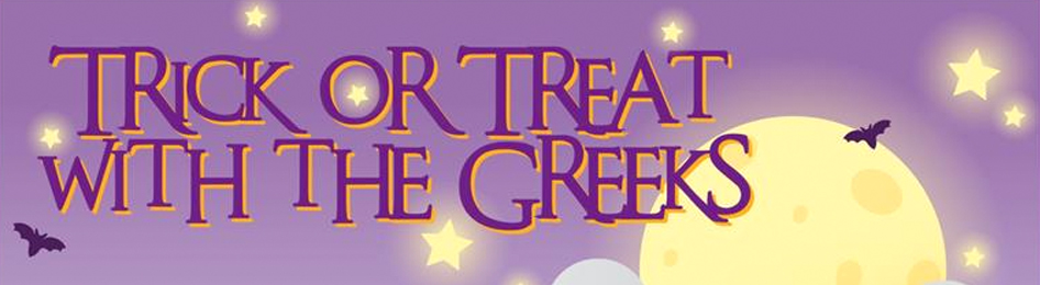 Trick or Treat With The Greeks!